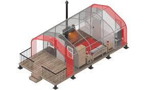 portable cabins from alaska structures the tsx series