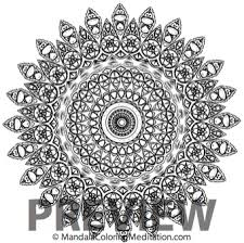 ready start mandala coloring transformation