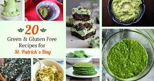 20 green u0026 gluten free recipes for st patrick u0027s day