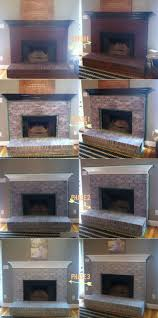 an easy tutorial white washing brick fireplace diy home sweet