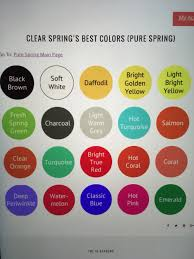 bright spring color names the bright spring color analysis