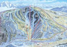 Breckenridge Ski Map Sunlight Mountain Resort Piste Map Trail Map