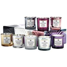 vermeil memento candle set assorted voluspa