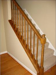 Stairway Banister Stairway U0026 Railing Renovation Project Mitre Contracting Inc