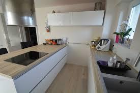 ilot central cuisine lapeyre cuisine laquã blanc colmar kã k laquée blanche avec ilot central