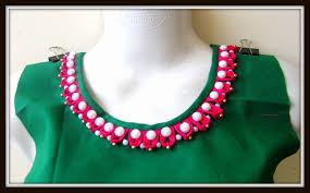 desain lop jagong pearl loop neckline for kurtis salwar kameez blouses design it