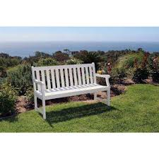 Outdoor Bench Furniture by Wood Outdoor Benches Patio Chairs The Home Depot
