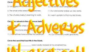 adverbs u0026 adjectives worksheet squarehead teachers