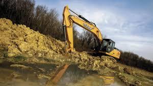 cx290b excavadora grande case