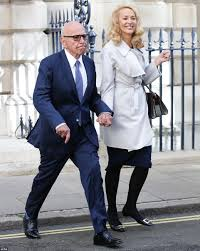 jerry hall marries rupert murdoch at an 18th century palace in