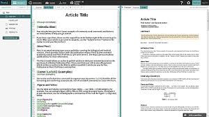 peerj partners with overleaf u2013 now latex submissions can be as
