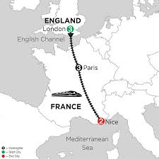 Nice France Map by London Paris U0026 Nice Travel Package Monograms France