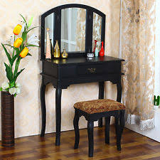 Dressing Table Vanity Mirrored Dressing Table Ebay