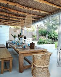 avant garde outdoor dining room design cococozy