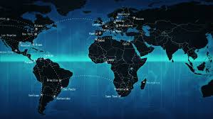 world map image with country names hd world map with names stock footage