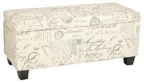 linen storage ottoman bench gdfstudio sandford linen storage ottoman reviews houzz