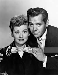 lucy ball lucille ball and desi arnaz on the set of i love lucy pictures