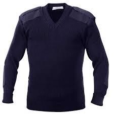 navy sweaters navy blue acrylic v neck commando sweater