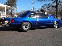 fox mustang drag car build radial nitrous record holder mir ch ricky fox going x275