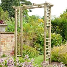 wedding arches home depot diy archway for garden financeintl club