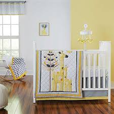 Gray And Yellow Crib Bedding Yellow Giraffe Crib Bedding Giraffe Crib Bedding Ideas U2013 Home