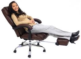 Chairs That Recline Reclining Office Chair W Footrest