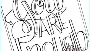 coloring pages for you free coloring page you are enough tammy tutterow designs