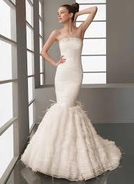 mermaid style wedding dress mermaid style trumpet wedding dresses styles of wedding dresses