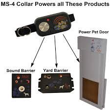 M S Outdoor Lighting Paws Combo Kit L Power Pet Door Sound Barrier U0026 Yard Barrier