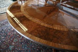 Dining Room Tables With Leaves by Round Dining Table With Leaf Seats 8 Starrkingschool