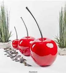 beautiful contemporary cherry ornaments indoor outdoor aluminium