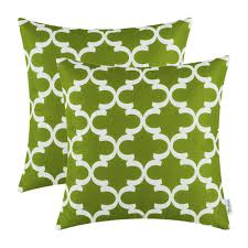 aliexpress com buy 2pcs calitime olive green cushion cover