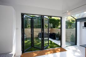 Collapsible Patio Doors by Bifold Patio Doors Aluminium Patio Doors Provide More Light