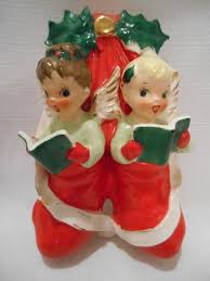 239 best vintage christmas figures images on pinterest christmas