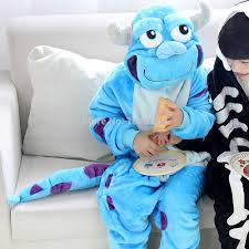 sulley halloween costume skeleton onesie picture more detailed picture about anime