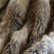 Faux Fur Throw Rugs Amazon Com Best Home Fashion Amber Fox Faux Fur Full Throw