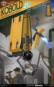 artstation prey operator posters fred augis