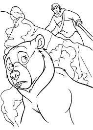 101 disney brother bear coloring pages disney images