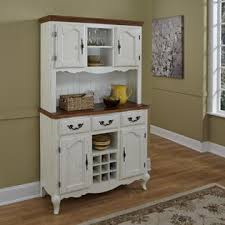 home styles oak and rubbed white french countryside buffet and