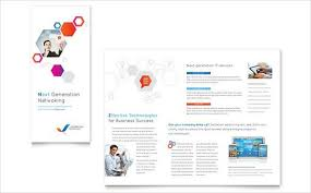 trifold template word free business tri fold brochure template