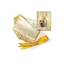 Make Your Own Gift Basket Avon Make Your Own Diy Gold Wire Gift Basket X5 Amazon Co Uk Beauty