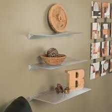 woodland home decor floating shelf diy glass floating shelves home decorations