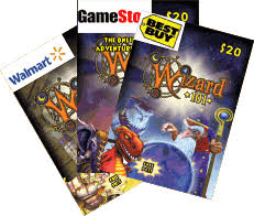 gift cards online purchase looking for a complete list of wizard101 gift cards here it is