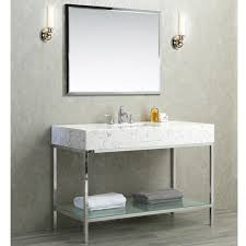 Modern Single Sink Bathroom Vanities by Ariel By Seacliff Brightwater 48