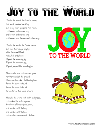 printable lyrics printable christmas song lyrics have fun teaching