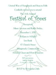 11th annual festival of trees reception united way of naugatuck