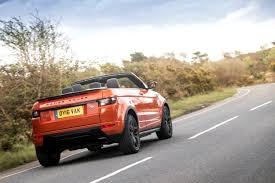land rover convertible flat out magazine land rover evoque convertible test drive