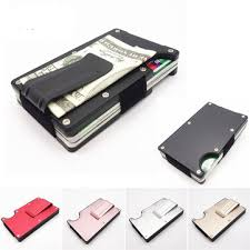personal details resume minimalist wallet metal clippers rfid blocking metal wallet slim minimalist credit card holder