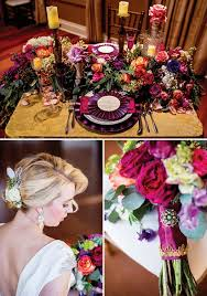vintage glam wedding colorful vintage glam wedding inspiration hostess with the mostess