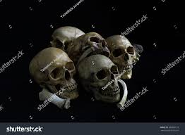 halloween dark background skull be sad sadness cemeteryskull dark stock photo 389863129
